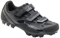 Louis Garneau – Gravel Bike Shoes, Black, US (10.75), EU (45)