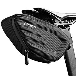 Cool Change Bike Saddle Bag Fully Waterproof | 2L Large Capacity | Tough EVA 3D Shell | Buckle I ...