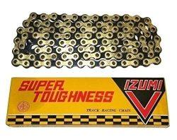 IZUMI SUPER TOUGHNESS CHAIN(NJS) 1/2X1/8 106L GOLD