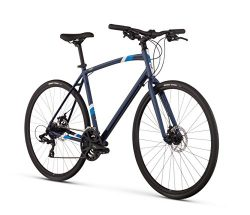 Raleigh Cadent 2 Urban Fitness Bike, 17″ /MD Frame, Blue, 17″ / Medium
