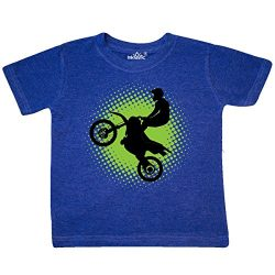inktastic – Motocross Rider Toddler T-Shirt 3T Retro Heather Royal 2de40