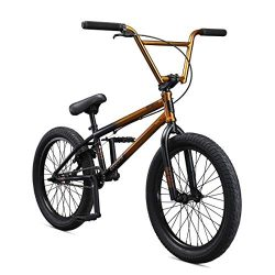 Mongoose Legion L80 20″ Freestyle BMX Bike, Silver