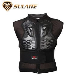 EDTara Protecting Vest for Motorcycle Riding Protective Gear Breathable Removable Sleeveless Arm ...