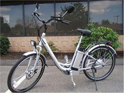 Electric Bicycle with Lithium Battery, Electric Hybrid Bike