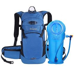 Unigear Hydration Packs Backpack with 2L TPU Water Bladder Reservoir for Running, Hiking, Climbi ...