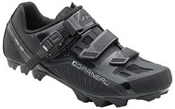 Louis Garneau – Slate MTB Bike Shoes, Black, US (13), EU (49)
