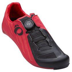 Pearl iZUMi Men's Race Road v5 Cycling Shoe, Rogue Red/Black, 45.0 M EU (10.8 US)