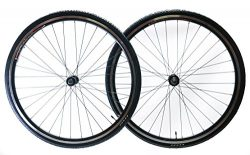 Zhili Sport 700c Aluminum Road Bike Wheelset Freewheel Compatible Front+Rear + 28c Tires New