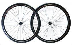 Zhili Sport 700c Aluminum Road Bike Wheelset Freewheel Compatible Front+Rear + 28c Tires New