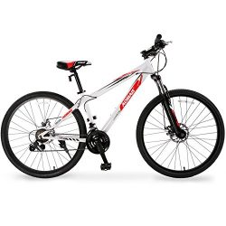 Murtisol Mountain Bike 27.5'' Men's and Women's Bike Fast Speed 21 Speed Hybrid Bicycle Front Fo ...