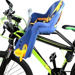 Lixada Child Bike Seat Baby Kids Bicycle Carrier Front Baby Seat with Handrail